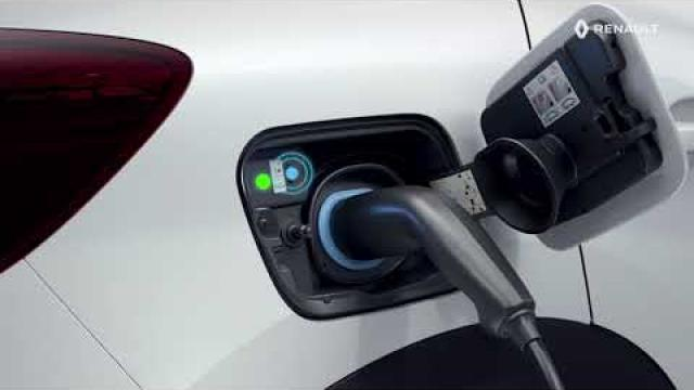 E-TECH PLUG-IN HYBRID - De tractiebatterij opladen