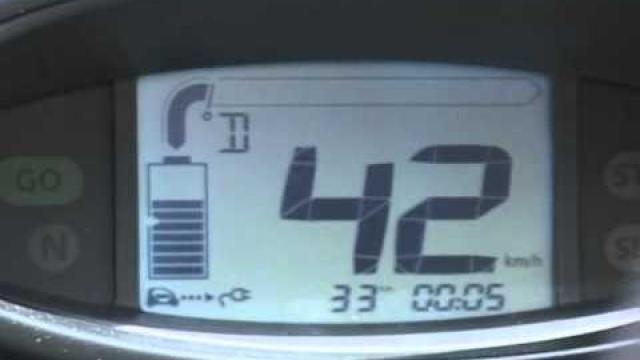 Twizy : Verbruiksmeter / Eco-verbruik / Eco-score