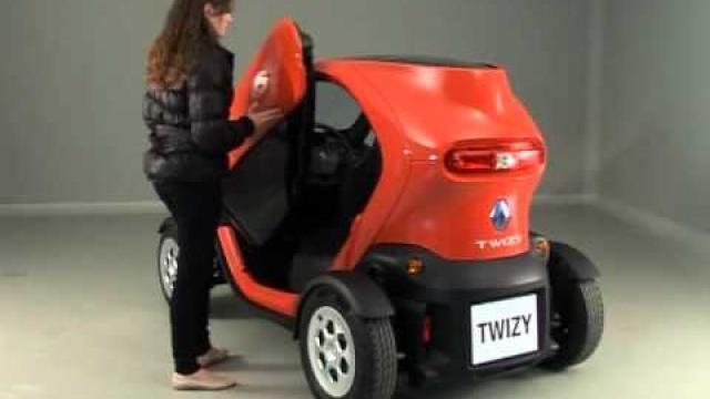 Twizy : Portieren openen en sluiten