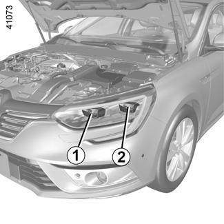 Goede E-GUIDE.RENAULT.COM / Nieuwe-Megane / Zorg voor uw auto (koplampen ZU-79